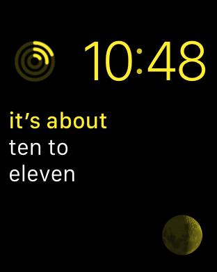 ten to eleven, Modular